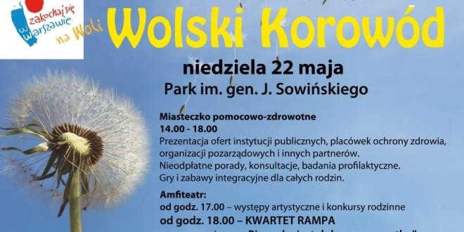 Wolski Korowod plakat 2016