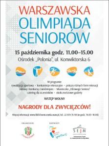 warszawska olimpiada seniorów